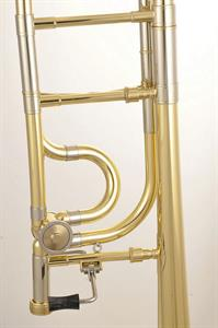 Edwards T-350CR-E Trombón Tenor Transpositor Open Wrap y Campana Gold Brass
